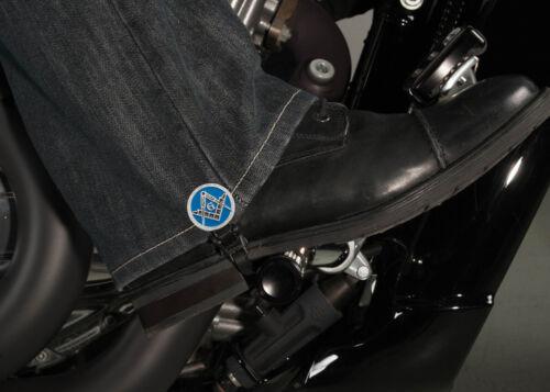 "4/"" Freemasons Biker Boot Stirrups"