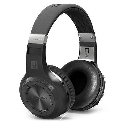 New BLUEDIO H-Turbine Bluetooth 4.1 Wireless stereo headphone headset -black FS