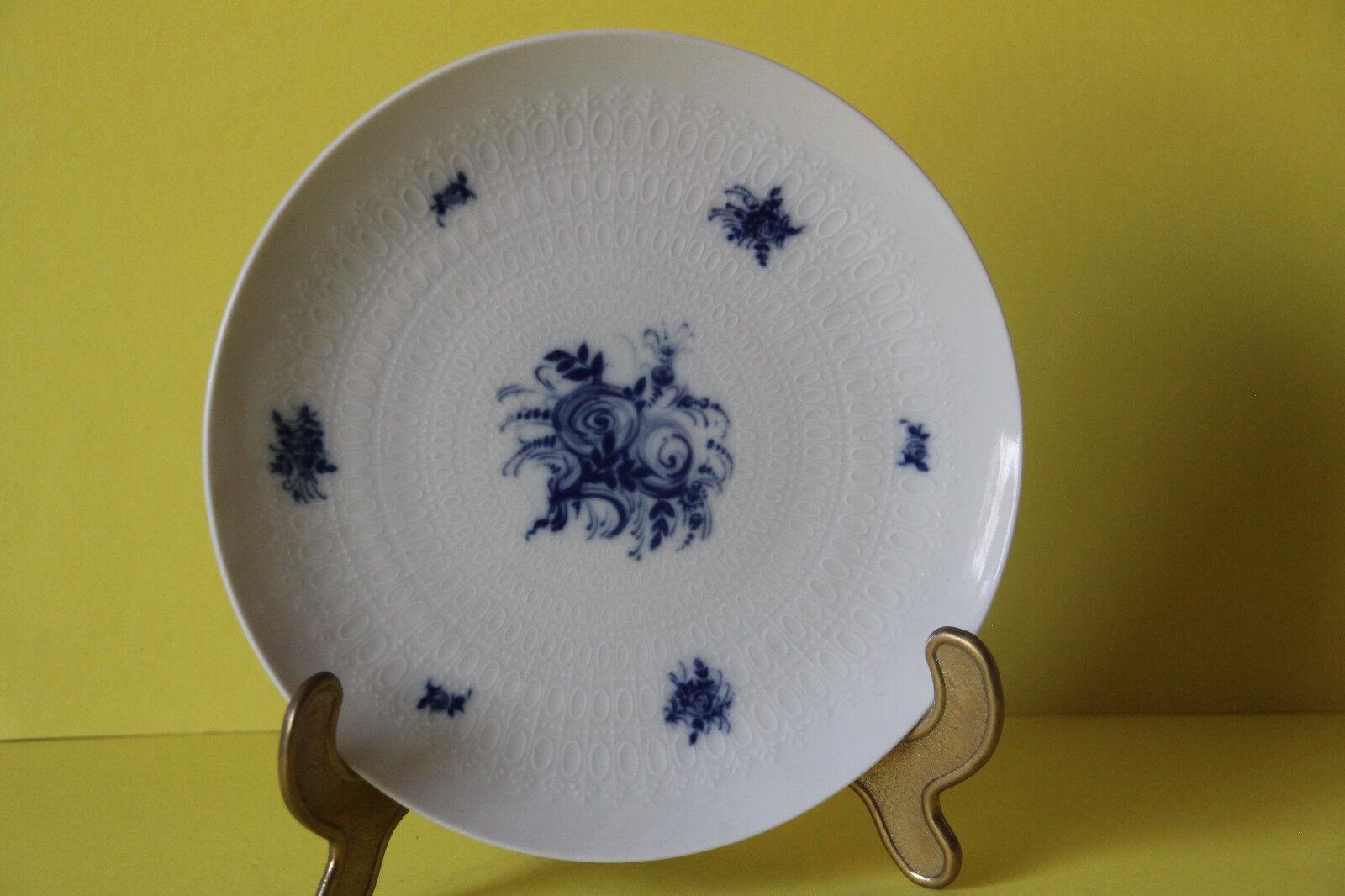 6 rosanthal Porcellana storia romantica in blu torta PIATTO PIATTI 19,3 cm 6 pezzi