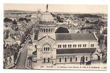 tours  la basilique saint-martin ,la ville et la cathédrale
