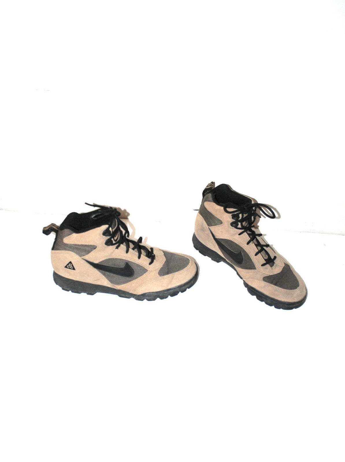 vintage nike hiking boots 90s athletic hikers size 8
