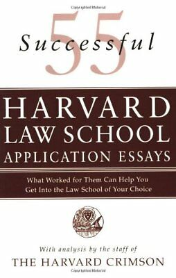 Law school admission essays service 55 successful harvard