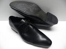 Chaussures ZY noir pour HOMME taille 40 garcon costume de mariage NEUF #178