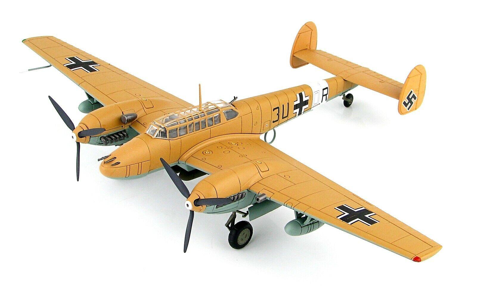 primera reputación de los clientes primero Hobby Master 1 72 alemán Messerschmitt Bf 110E-2 110E-2 110E-2 Fighter-ZG 26,  HA1815  contador genuino