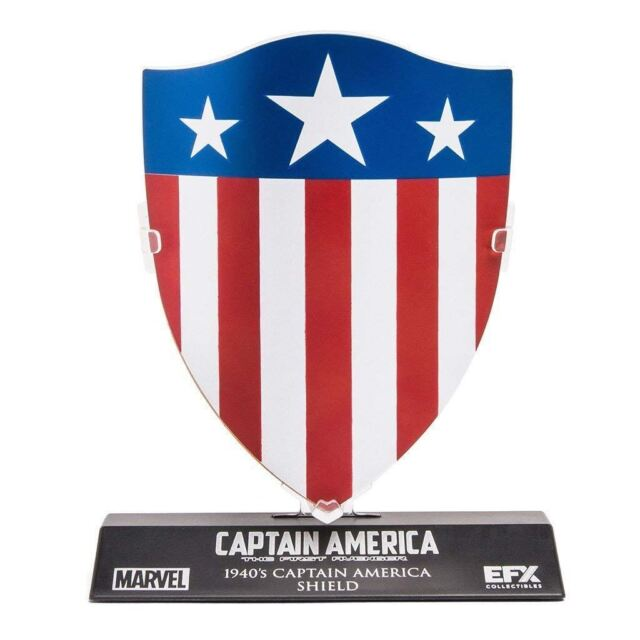 Official 1940's Marvel Captain America 1:6 Scale The First Avenger Shield