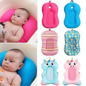 Portable-Baby-Non-Slip-Bath-Cushion-Bathtub-Mat-Infant-Safety-Seat-Support-BEST