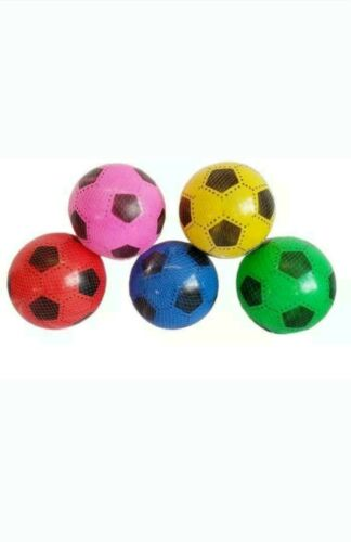 100pcs PLASTIC PVC FOOTBALLS flat packed uninflated With 2 Free Pump Wholesale