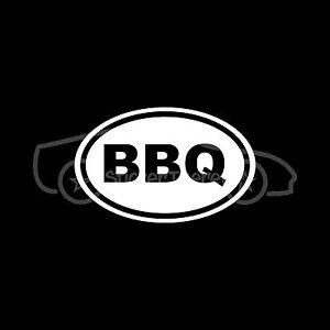 BBQ-Sticker-Decal-Barbeque-Car-Truck-Cook-Grill-Chicken-Food-Hamburger-Steak-Fun