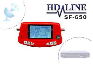 hd line sf650 digital satellite signal sat dish finder f r camping astra turksat ebay. Black Bedroom Furniture Sets. Home Design Ideas