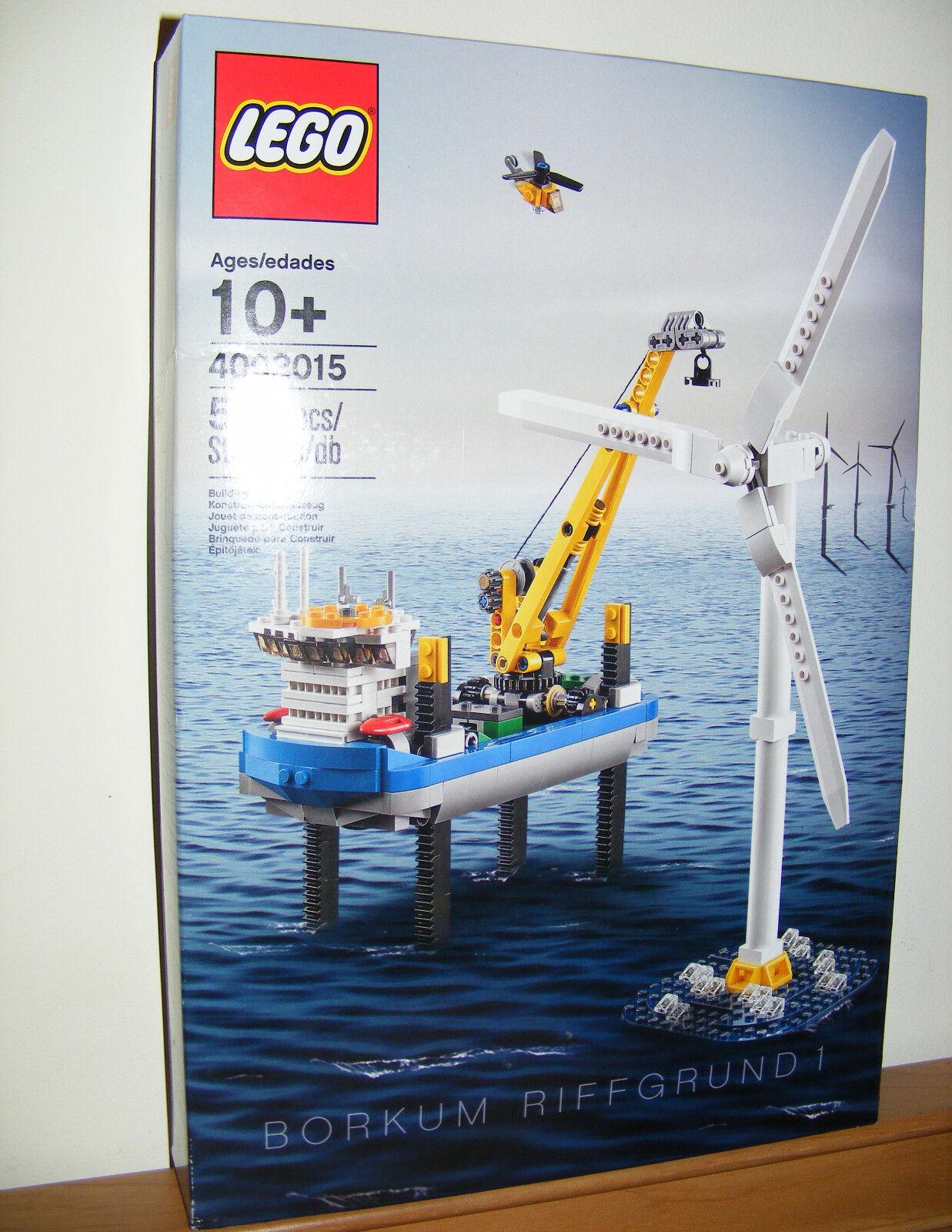 LEGO 4002015 Borkum Riffgrund Wind Turbine NEW Factory Sealed 2015 but NISB 03