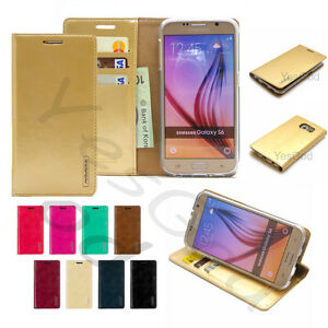 Stand-Slim-Flip-Leather-Wallet-Case-Cover-Transparent-Gel-For-iPhone-Galaxy-LG