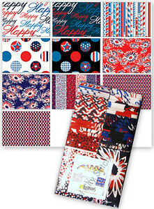 Jelly-Roll-Benartex-American-Patriotic-Blue-Cotton-Fabric-40-Strips-2-5-034-X44-034