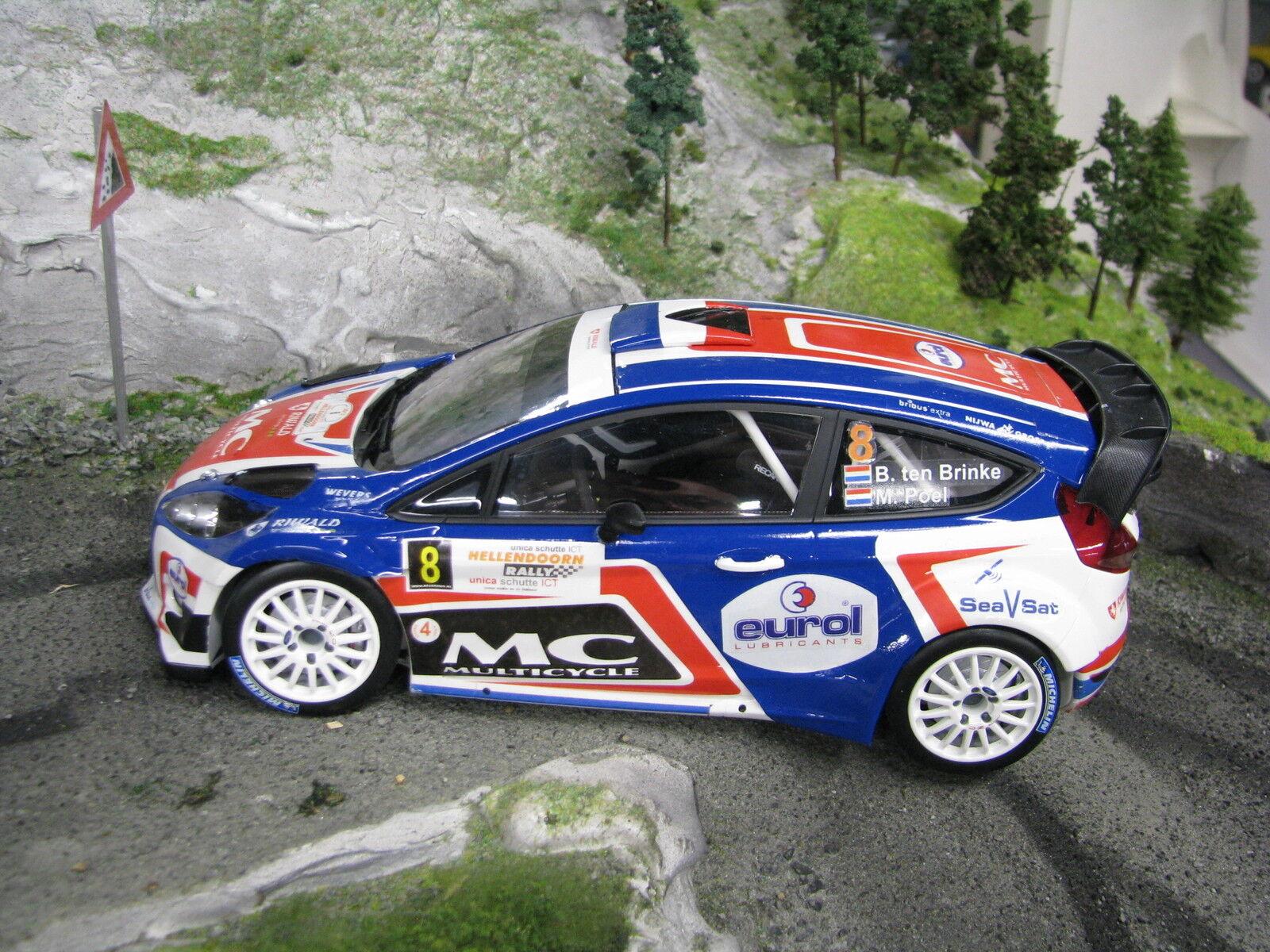Minichamps Ford Fiesta WRC 2013 1:18  8 Ten Brinke / Poel Hellendoorn Rally