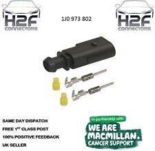 VW 2 Pin Plug Conector Impermeable Kit 1J0 973 802