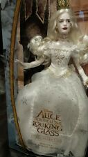 Alice Through the Looking Glass White Queen Doll Disney New