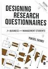 Designing Research Questionnaires von Yuksel Ekinci (2015, Gebundene Ausgabe)