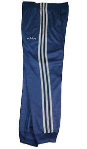 ADIDAS-3-Stripe-Junior-Active-Pants-Navy-Blue-Work-Out-Pants-Size-XL-18-20