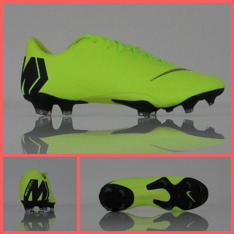 Zapatos NIKE fútbol VAPOR 12 PRO FG AH7382 701 Color Amarillo FLUO NE noviembre