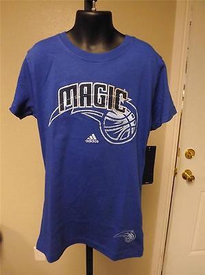 Sport Neu Orlando Magic Jugendliche Für Mädchen Mittelgross M Size 10-12 Adidas Shirt Gut FüR Energie Und Die Milz