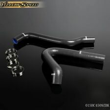 Fit For 67 72 Chevy Ck Series C10 Pickup Black Silicone Coolant Radiator Hose Fits Chevrolet