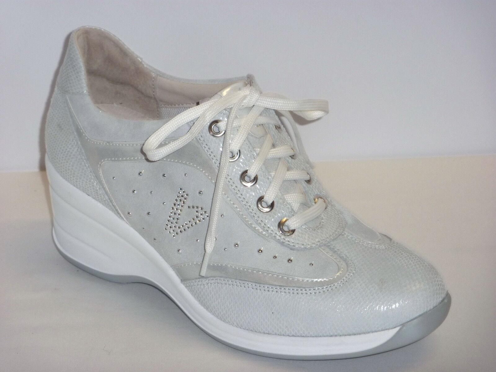 VALLEverde zapatillas zapatos TENNIS mujer CASUAL ZEPPA ALLACCIATE ALLACCIATE ALLACCIATE  BIANCO n.36  autorización oficial