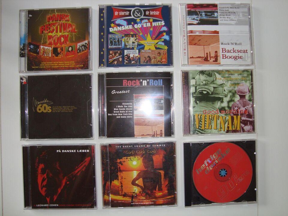 14 CD'er forskellige Hits: Mange forskellige, andet