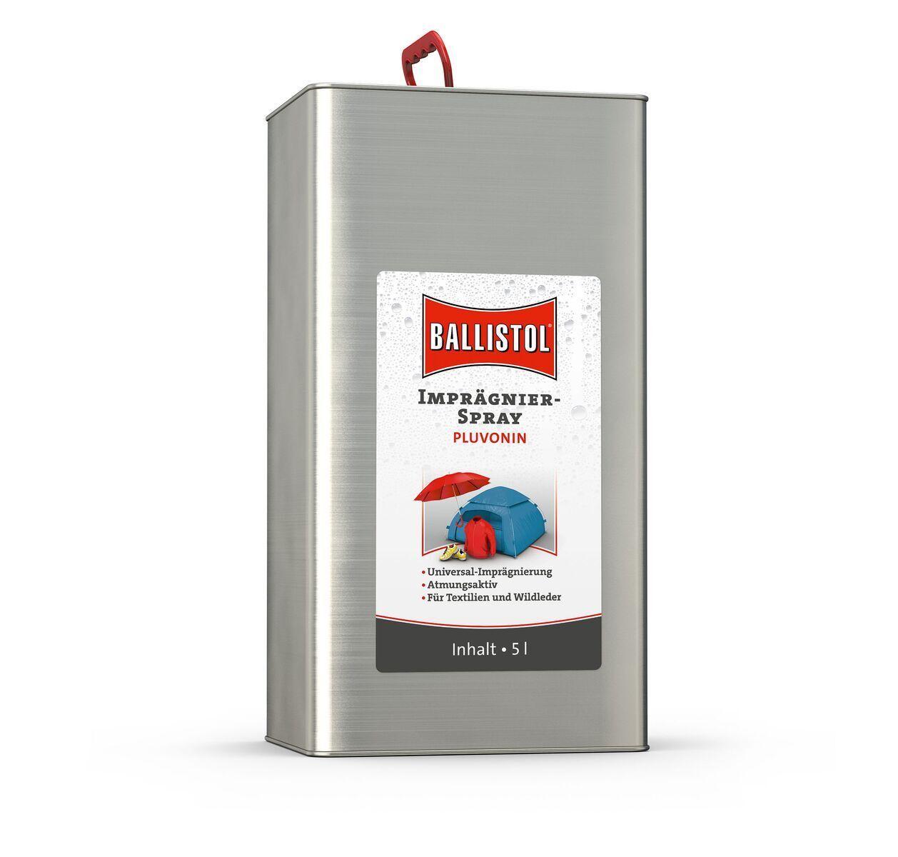 Ballistol Imrpägniermittel 5L Kanister Kanister Kanister - Outdoor imprägnieren Schuhe Jacke Zelt cfaf5f