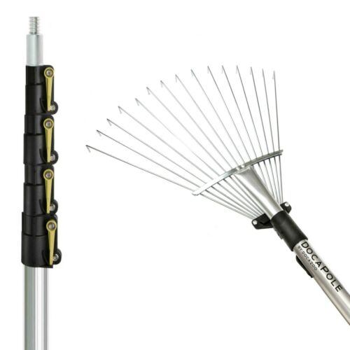 Roof Rake Attachment DocaPole 7 to 30 Foot Extension Pole