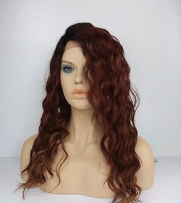 LONG|LOOSE WAVE|SIDE PART  INVISIBLE L-PART LACE FRONT WIG- ALICIA