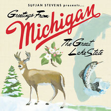 Sufjan Stevens - Greetings From Michigan - 2 x Vinyl LP & Download *NEW*