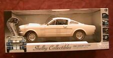 FORD SHELBY GT350 FASTBACK WHITE 1966 SHELBY174 1/43 SHELBY COLLECTIBLES BLANC