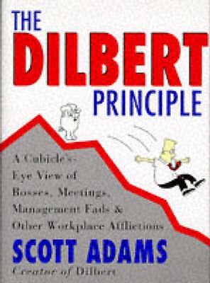 """AS NEW"" Adams, Scott, The Dilbert Principle (Hb), Hardcover Book"