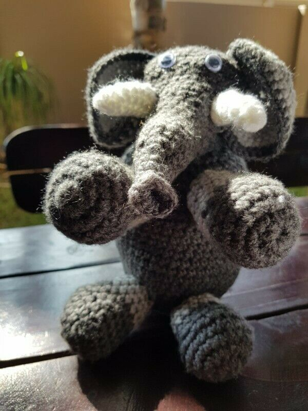 Sheep spring special, hand crocheted