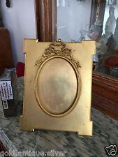 ancien cadre porte photo bronze doré Louis XVI Old photo frame picture