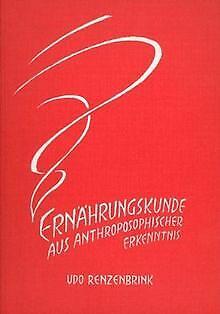 Ernährungskunde aus anthroposophischer Erkenntnis. Grund... | Buch | Zustand gut