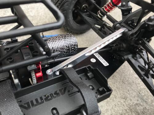 Aluminum Rear Chassis Brace for 1//8 Arrma Kraton Tailon S