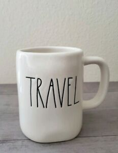 NEW-RAE-DUNN-by-Magenta-TRAVEL-Coffee-Tea-Mug-Farmhouse-Decor