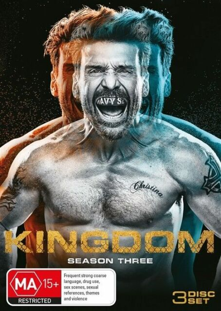 Kingdom : Season 3 (DVD, 3-Disc Set) NEW
