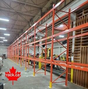 Industrial Shelving - Pallet Racking - Guardrail - Mezzanine - Cantilever - Wire Partition Sault Ste. Marie Ontario Preview