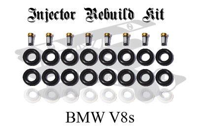 7525721 Genuine Siemens Fuel Injector Rebuild Kit BMW X5 550i 545i 645Ci 650i