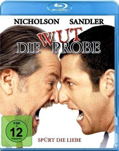 DIE WUTPROBE (Adam Sandler, Jack Nicholson) Blu-ray Disc NEU+OVP