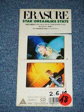"ERASURE Japan Only 1990 Tall 3"" inch CD Single STAR/DREAMLIKE STATE"