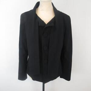alla da donna sciarpa giacca collo Uk nera 12 Hobbs Elegante con Edition Limited taglia qztEE