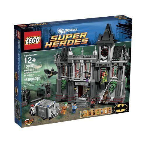 LEGO  Super Heroes Arkham Asylum Breakout (10937) [giocattolo]  edizione limitata a caldo