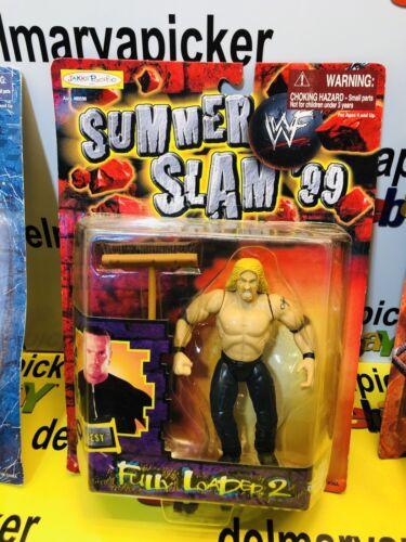 WWF WWE WRESTLING SUMMER SLAM/'99 entièrement chargé 2 Test Action Figure