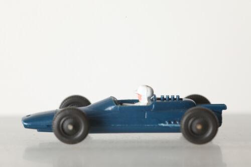 Wiking 1:87 h0 446 formule 1 voiture de course Lotus Bleu Avec Blanc conducteur 136351