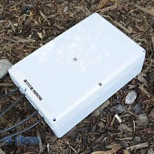 Large Garden Weatherproof Enclosure Dry Box Electric Plug Extension Block IP65.