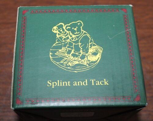 NIB Longaberger Boyd/'s Bear Exclusive Splint /& Tack Bearstone Resin