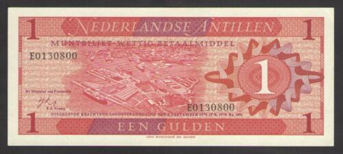 20  Uncirculated NETHERLANDS  ANTILLES  1 GULDEN  1970   P
