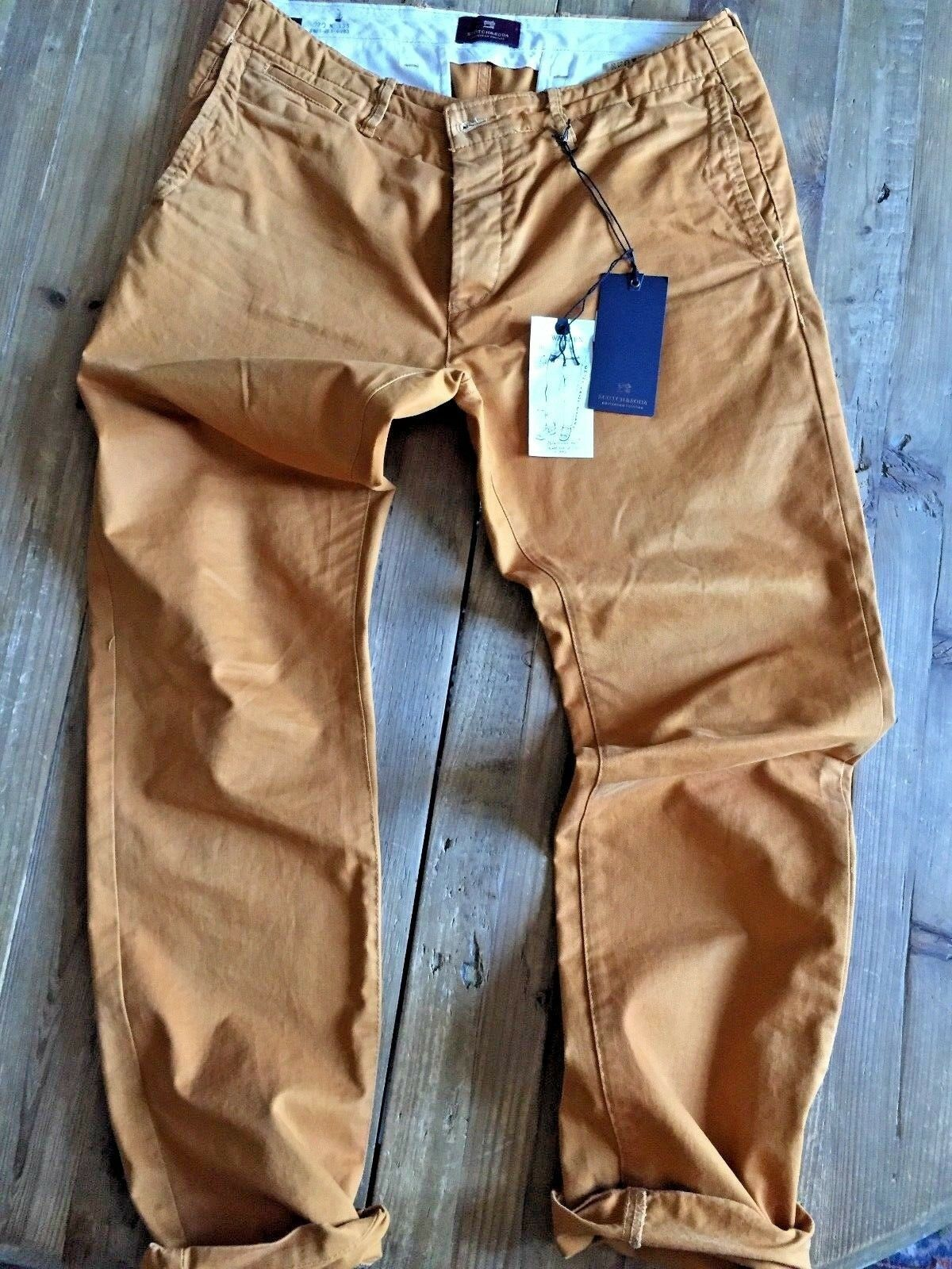 Pantalone SCOTCH & SODA - mod. Warren - taglia W31 L32 inverno 2018